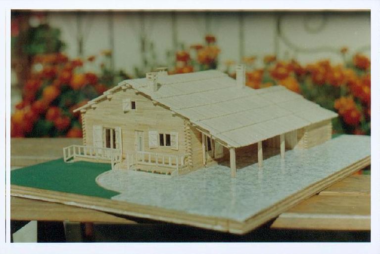 Eric darrigrand maquettes en allumettes - Bon plan construction maison ...